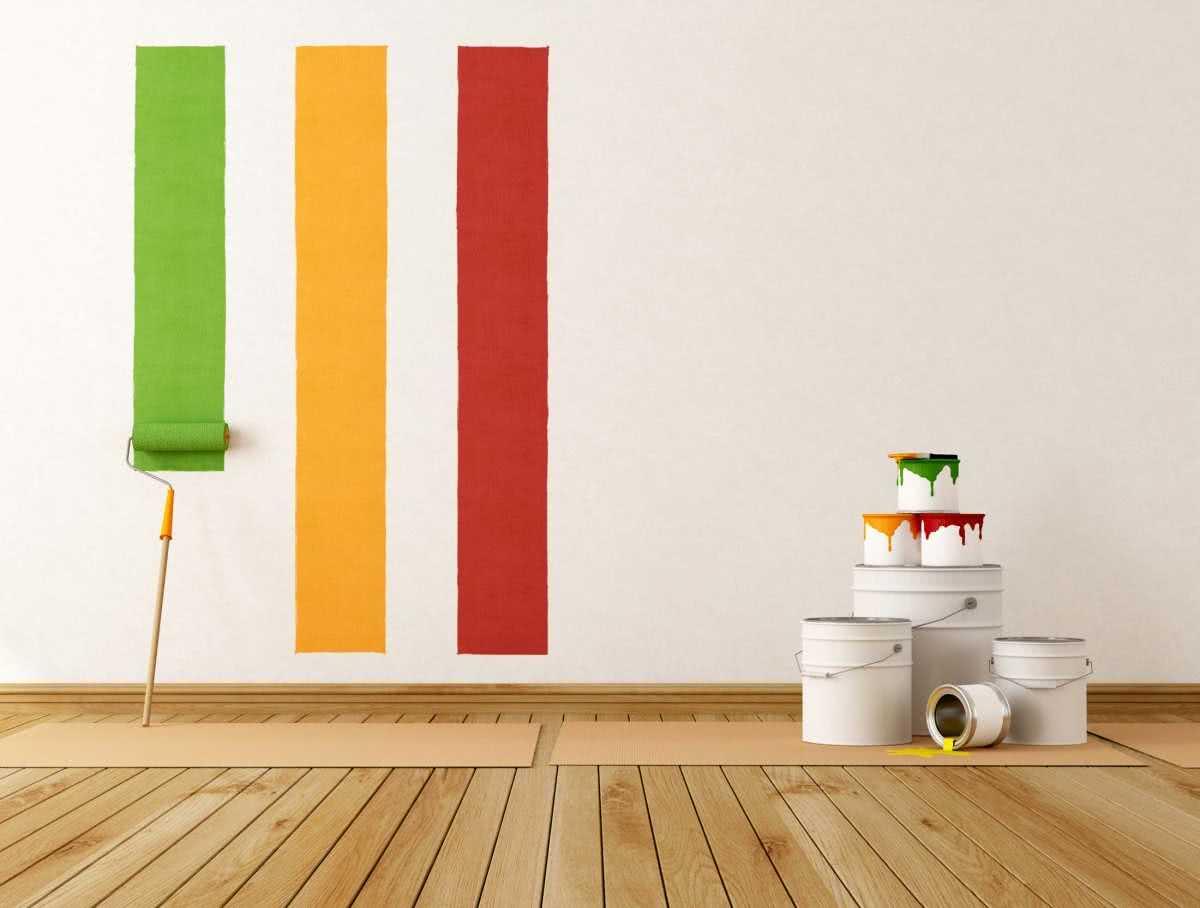 Як фарбувати стіни водоемульсійною фарбою без розводів - Prometr ...