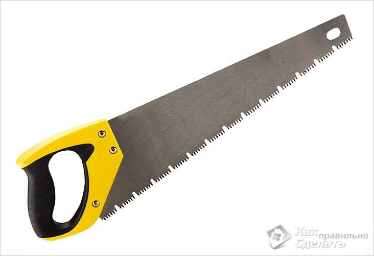 Как выбрать ножовку по дереву: изучаем характеристики инструмента