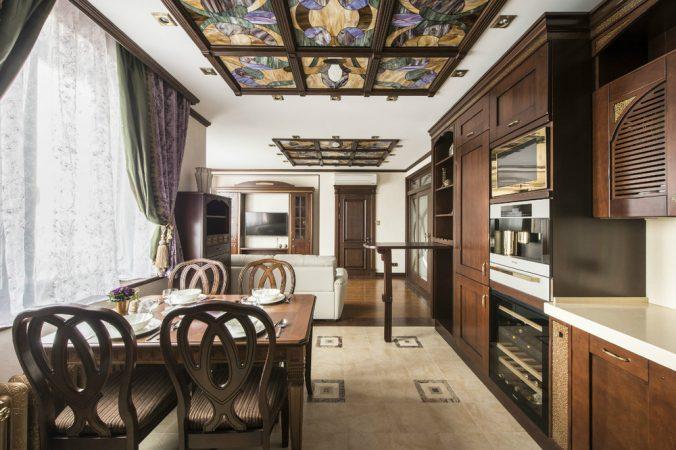 Дизайн кухні в класичному стилі