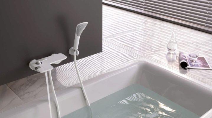 белый душ