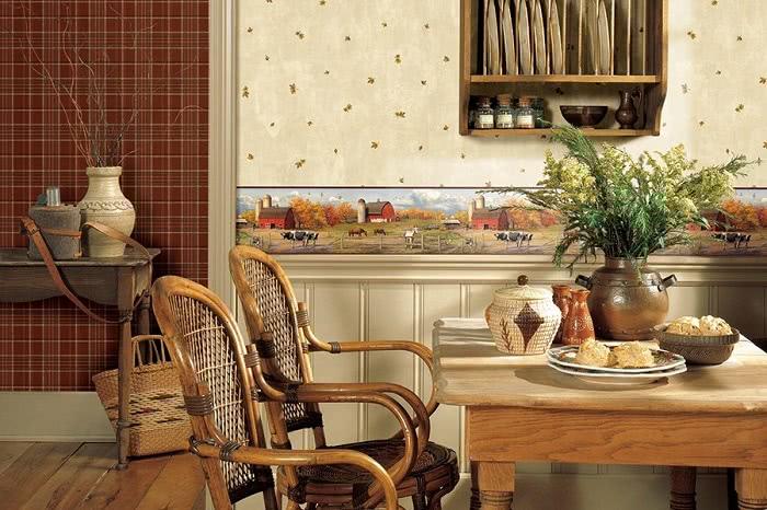 Стены на кухне: чем отделать?